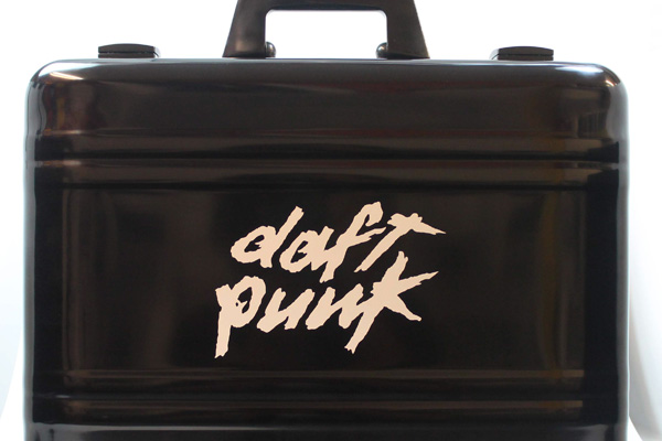 Die Cut Decal on Plastic Briefcase
